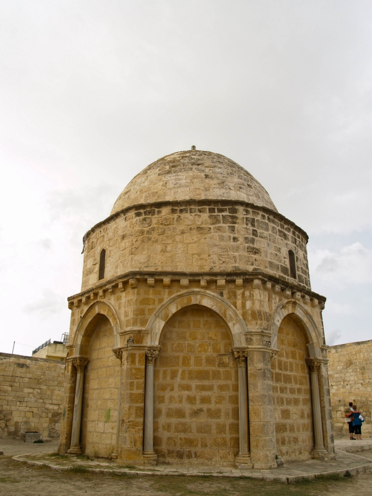 Himmelfahrtskapelle in Jerusalem